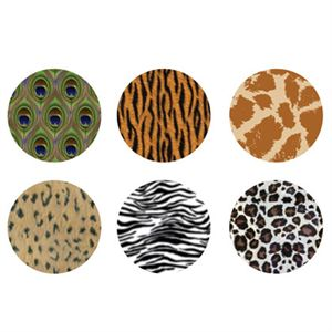 Picture of Animal Print Medium Locket Backdrops